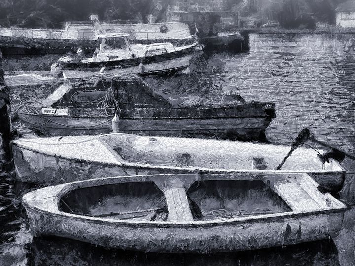 Just some boats - Leigh Kemp Photo Art