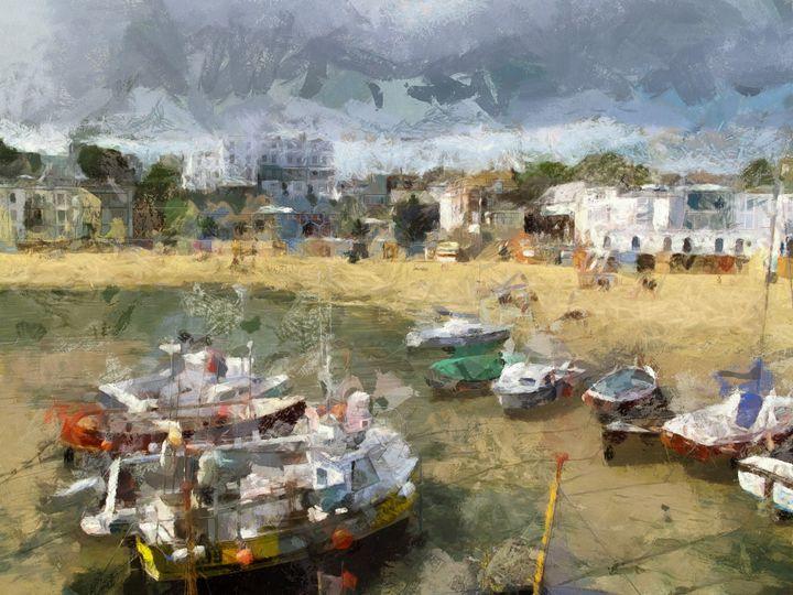 Broadstairs Harbour - Leigh Kemp Photo Art