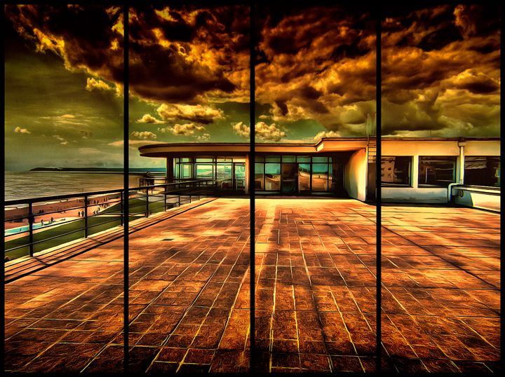 Up on the roof - Leigh Kemp Photo Art