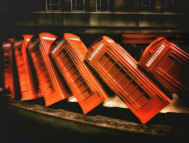 Telephone Boxes - Leigh Kemp Photo Art