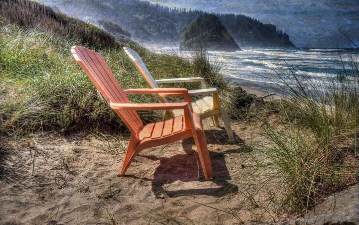 Relax By The Sea! - Thom Zehrfeld Photography