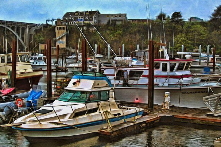 Depoe Bay Harbor - Thom Zehrfeld Photography