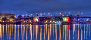 Morrison Bridge Reflections