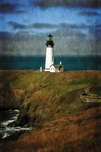 Noon At The Yaquina Head Lighthouse