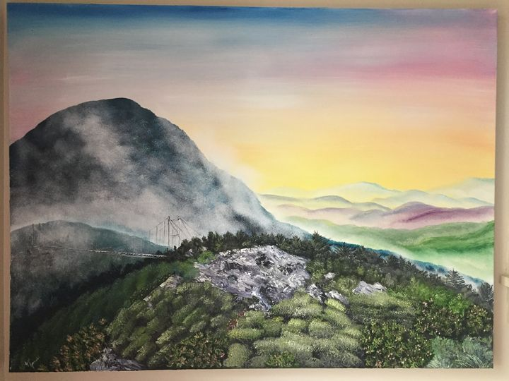 Grandfather Mountain - Wild Blue Yonder Art Studio