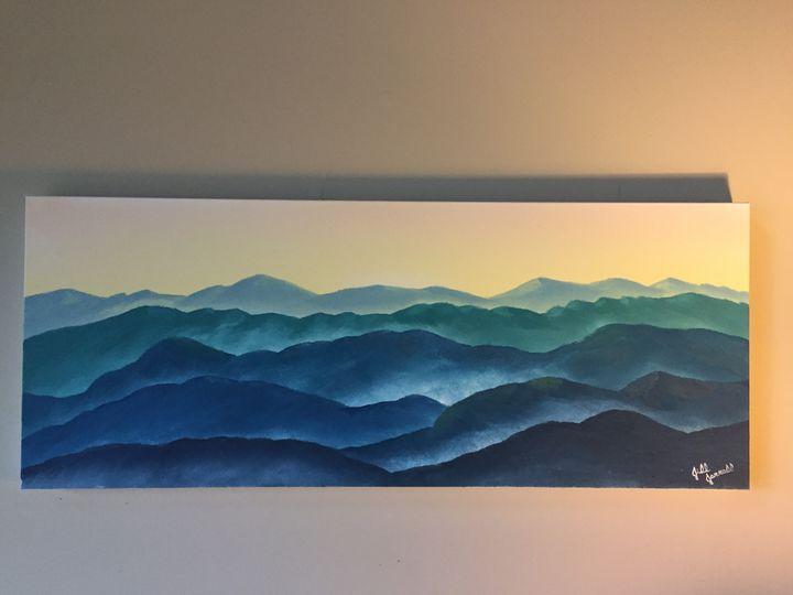 Blue Ridge - Wild Blue Yonder Art Studio