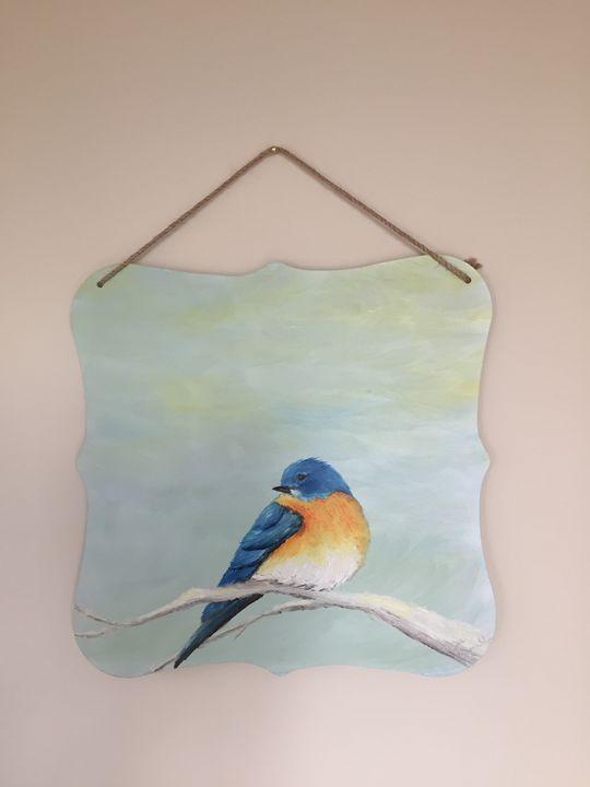 Bluebird - Wild Blue Yonder Art Studio