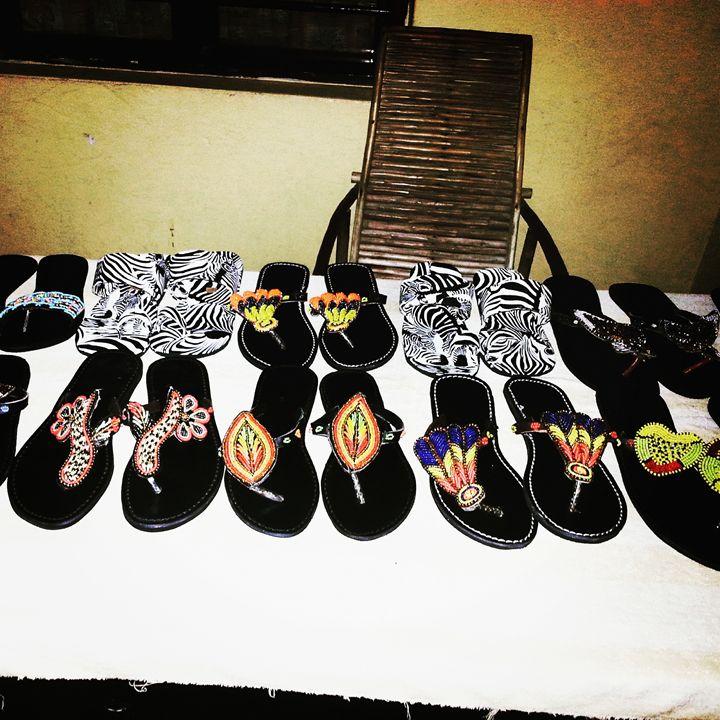 African sandles - possmassai