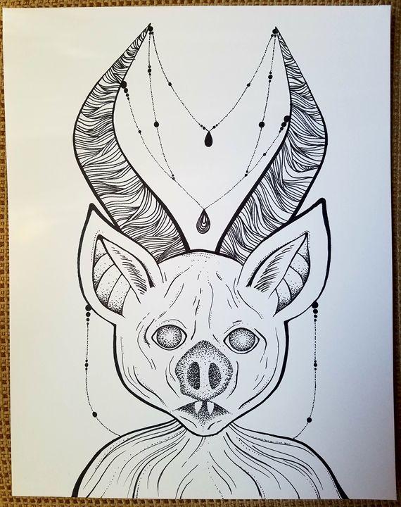 Horned bat - Coneckted