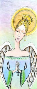 Prayer bead angel