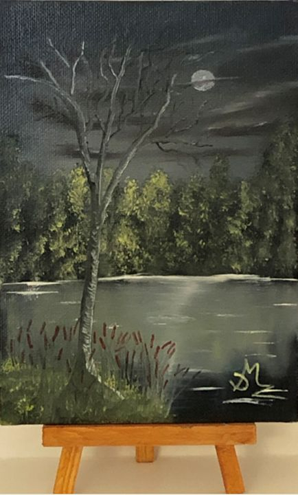 Midnight Fishing Hole - DMZ Art