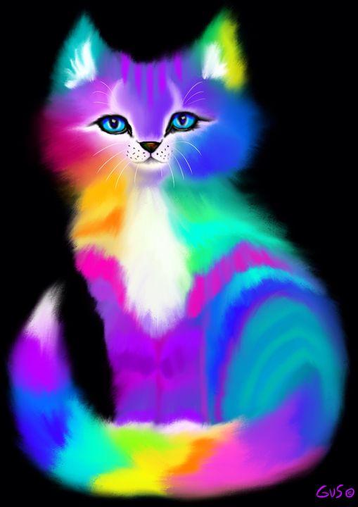 Colorful Kitten - Nick Gustafson