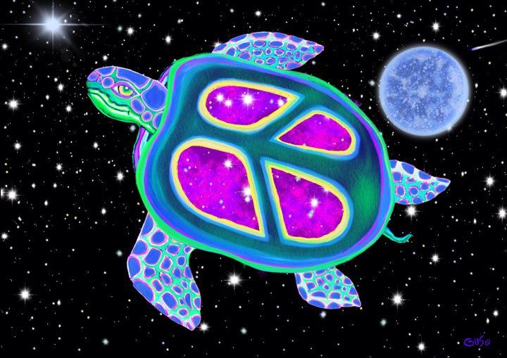 Celestial Sea Turtle - Nick Gustafson