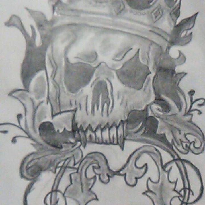 skull candy - Allison Elaine