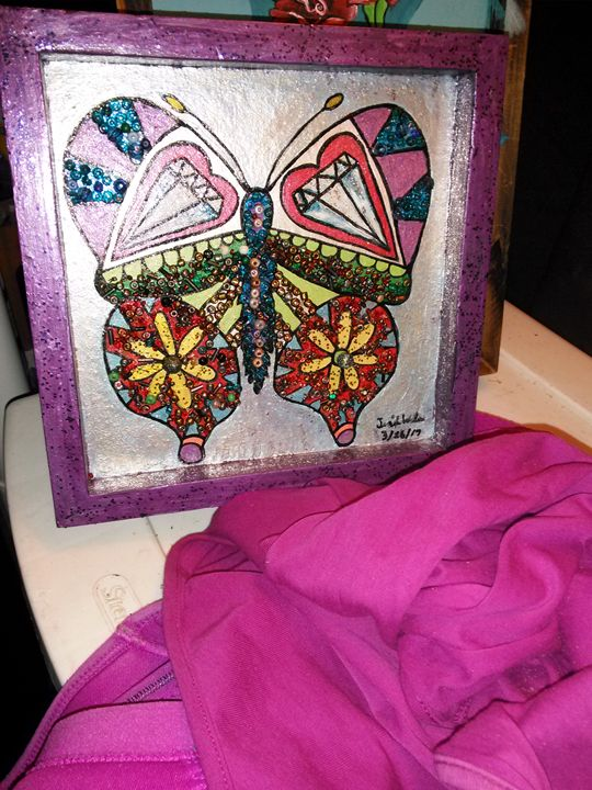 Beaded Butterfly - Sunnysideup