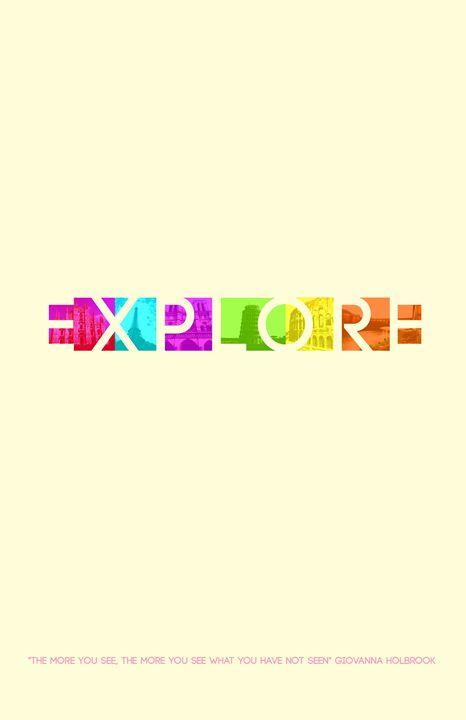 Explore Print - Molly de Jong