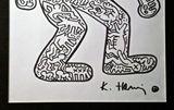 Original drawing Keith Haring 'Dog'