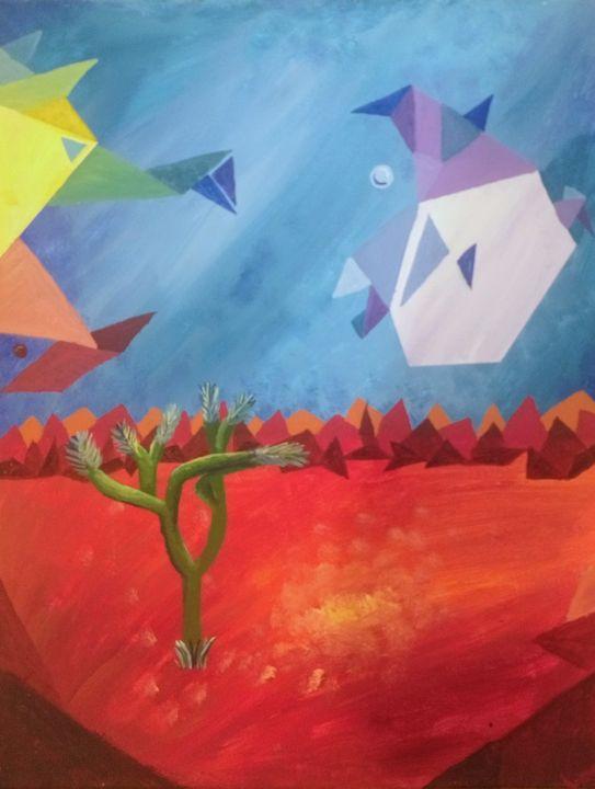 Joshua tree in my mind - Santosha Spickard