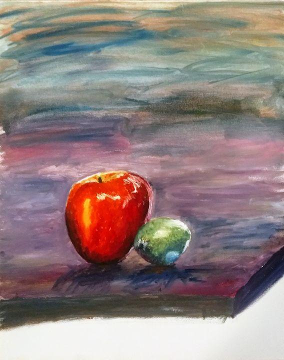Sour apple - Santosha Spickard