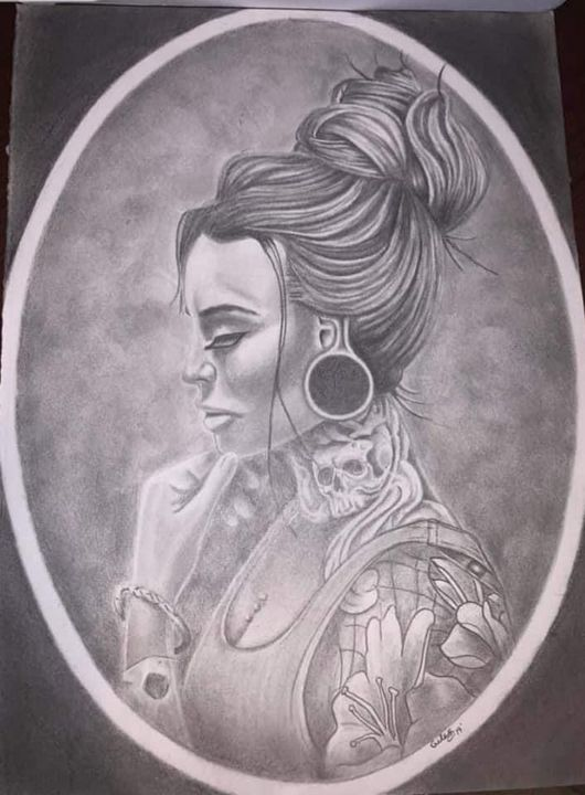 Tattoo chick - Troy Giles