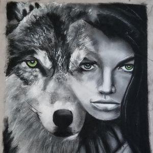Wolf chick
