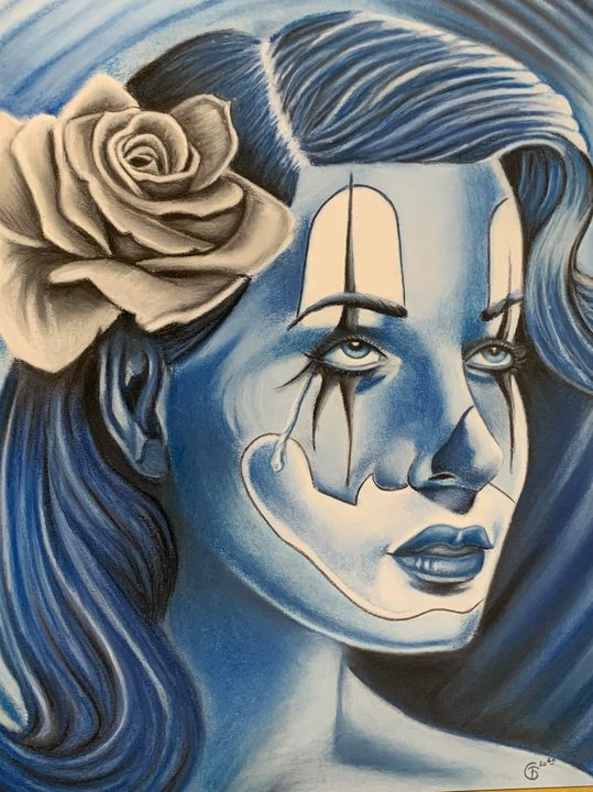 Blue girl - Troy Giles