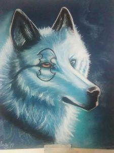 Batman white wolf