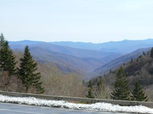 Blue Smokey Mountains I