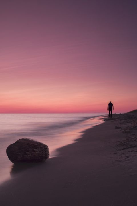 Solitary Stroll - Vision & Light Photography