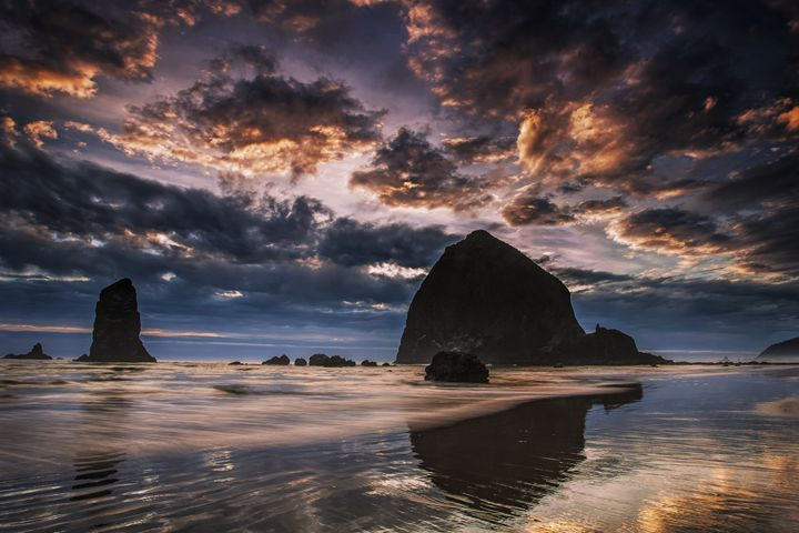 Oregon Coastal Sunset - Vision & Light Photography