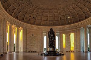 Jefferson Memorial in Morning Light - Vision & Light Photography