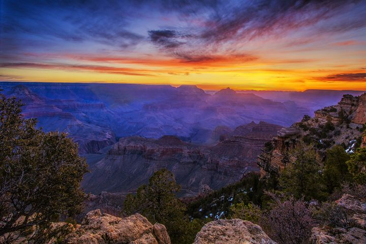 First Light in the Canyon - Vision & Light Photography