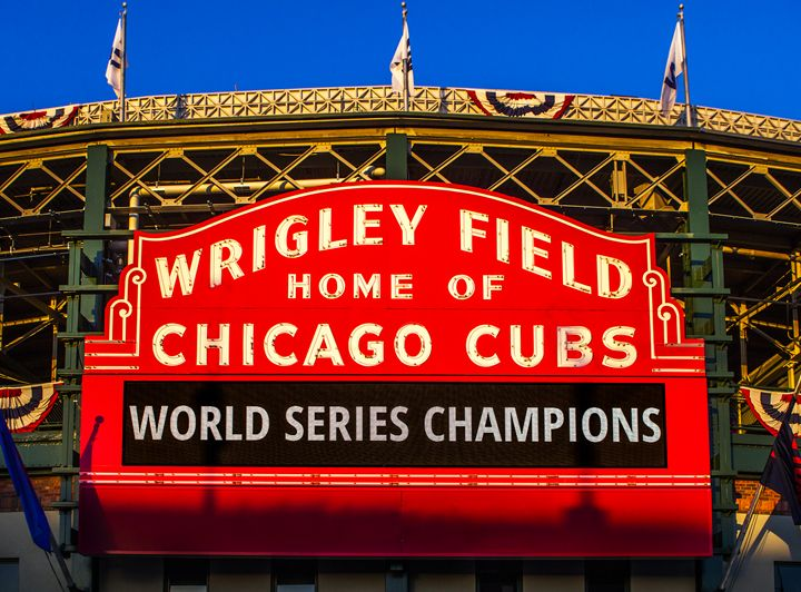 Cubs Win World Series - Vision & Light Photography