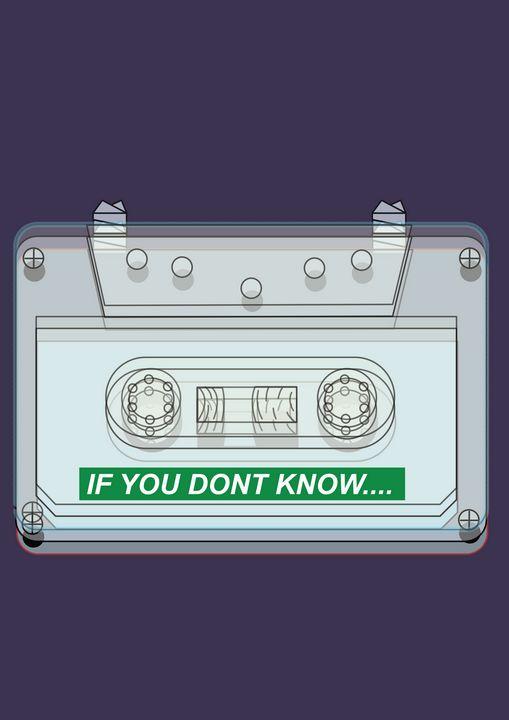 Cassettes 90's - organicmadeit