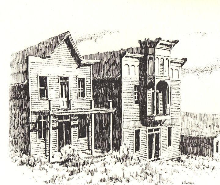 Elkhorn Ghost Town, Montana - Heaney Art Gallery