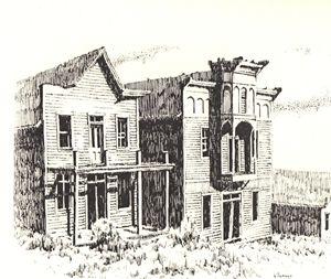 Elkhorn Ghost Town, Montana