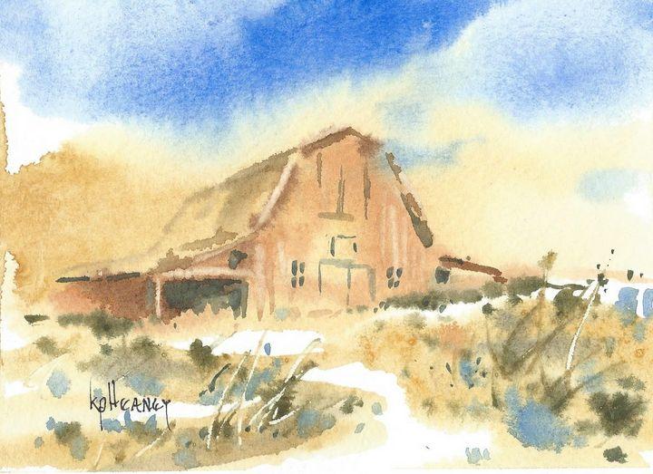 Montana Barn - Heaney Art Gallery