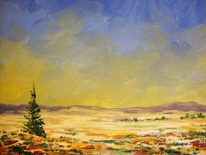 Montana Scene - Heaney Art Gallery
