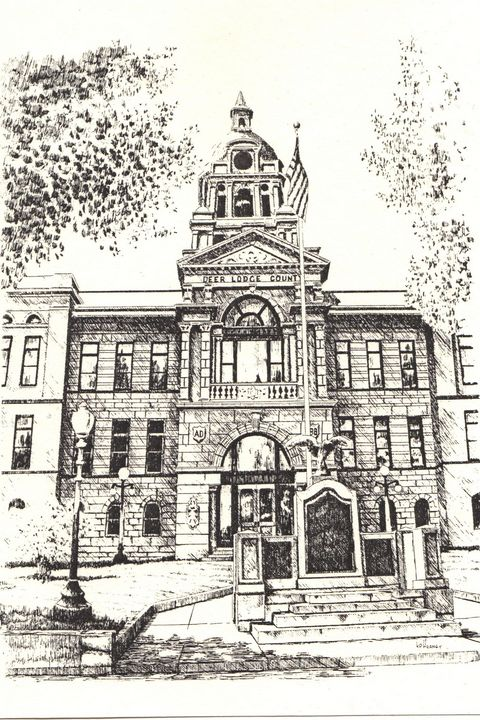 Deer Lodge County Courthouse - Heaney Art Gallery