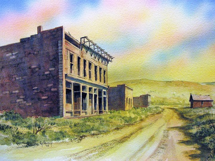 White Oaks Ghost Town, New Mexico - Heaney Art Gallery