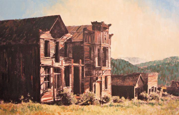 Elkhorn Ghost Town - Heaney Art Gallery