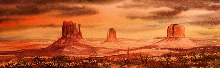 Monument Valley - Heaney Art Gallery
