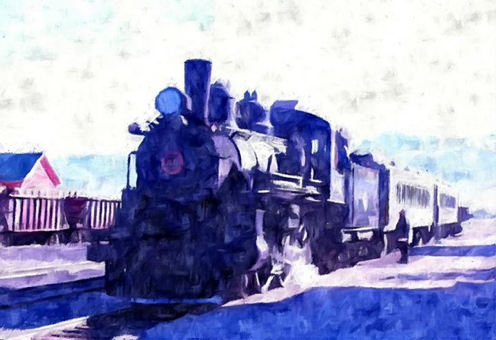 Ghost Train, Ely, Nevada - Heaney Art Gallery