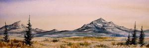 Montana Landscape - Heaney Art Gallery