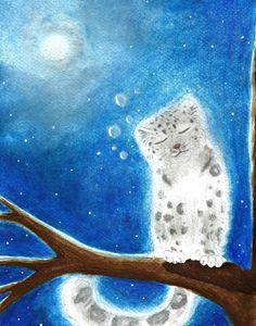 One Night - Snow Feline