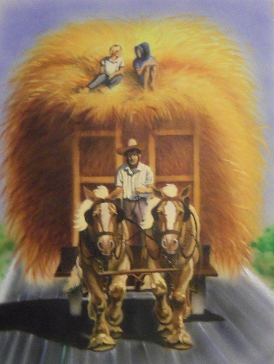 Haywagon Ride - Rader's Artshop