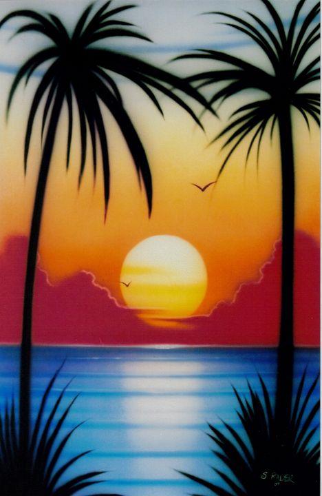 Sunset - Rader's Artshop