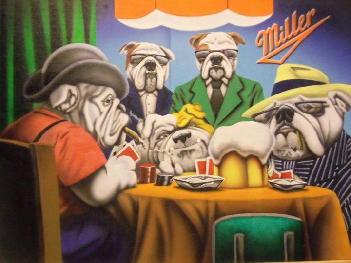 Bulldog Poker - Rader's Artshop