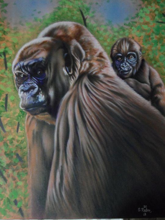 Gorillas - Rader's Artshop