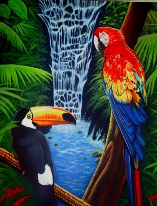 Rainforest - Rader's Artshop